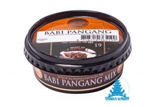 Koningsvogel boemboe babi pangang