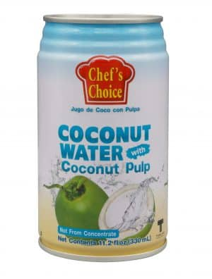 Chef's Choice coconut water pulp 330ml