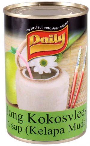Daily jong kokosvlees kelapa muda