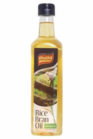 Daily rice bran oil 100% pure rijstolie 500 ml