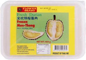 Flowerbrand diepvries fresh durian