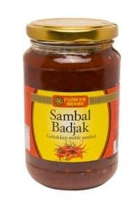 Flowerbrand sambal badjak 375 gram