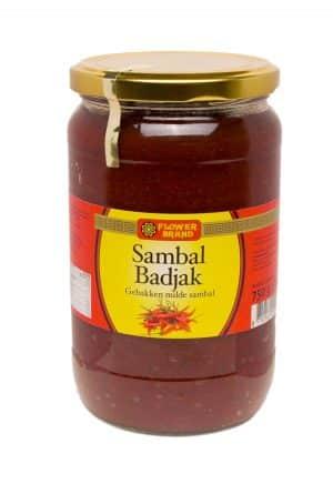 Flowerbrand sambal badjak 750 gram