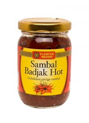 Flowerbrand sambal badjak hot 200 gram