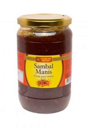 Flowerbrand sambal manis 750 gram