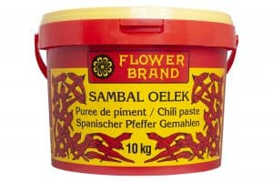 Flowerbrand sambal oelek emmer 10 kg