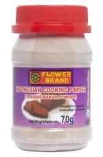 Flowerbrand trassie bakar poeder Indonesian cooking powder potje 70gram