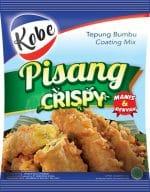 Kobe Pisang Crispy manis renyah 75 gram tepung bumbu coating mix