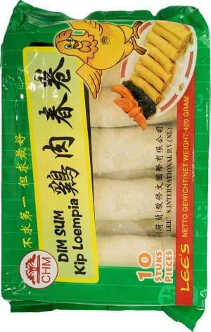 Lee's dim sum kip loempia 420 gram