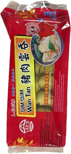 Lee's dim sum wan tan varken 190g
