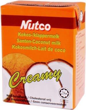 Nutco cocosmelk creamy coconut milk tetra 200ml