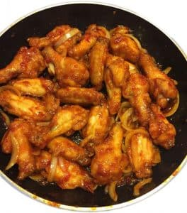 Pantainorasingh chilli sauce chicken