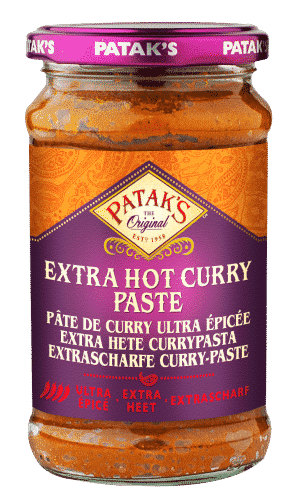 Pataks Hot Curry Paste 250 ml