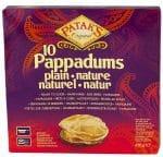 Patak's Plain Pappadums 12x100 g