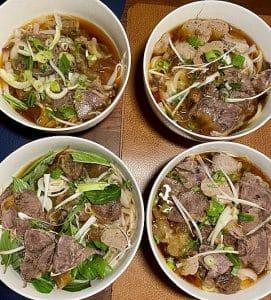 rundvlees noodles Pho Bo