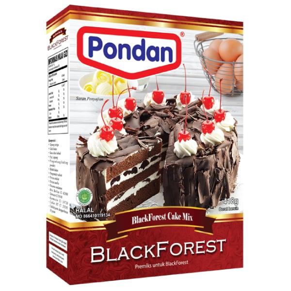 Pondan cakemix black forest