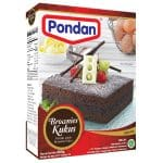 Pondan cakemix brownies kukus steam cake mix