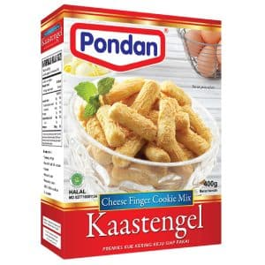 Pondan cakemix kaasstengel-indo cheese finger cookie