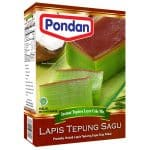 Pondan lapis tepung sagu instant tapioca layer cake mix