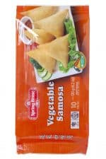 Spring Home vegetarische vegetable samosa