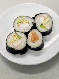 Sushi homemade met Vanka-Kawat kleefrijst