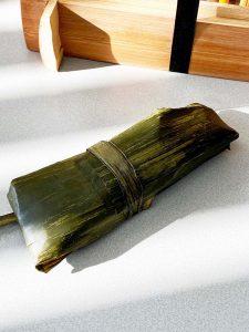 bananenblad verpakking dicht