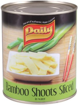 daily bamboo shoots sliced