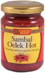 Flowerbrand sambal oelek hot