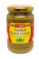 flowerbrand sambal rawit groen