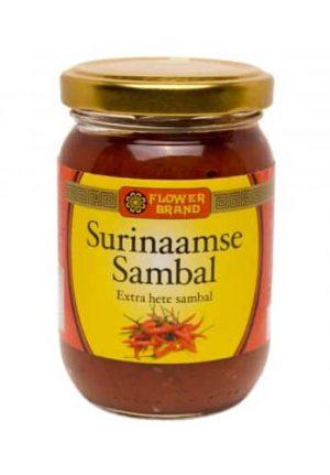 flowerbrand surinaamse sambal