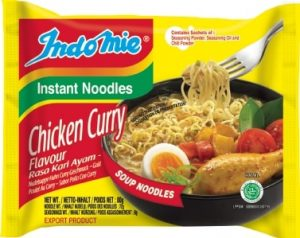 indomie chicken curry noodles