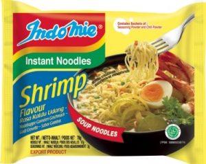 indomie shrimp noodles