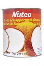 nutco klappermelk kokos kokosmelk cocosmelk klapper cocos melk milk halal 2900ml
