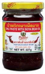 pantainorasingh chili paste soya bean oil