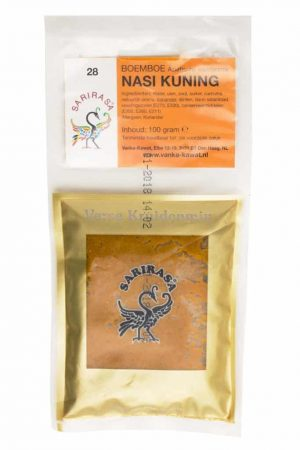 Sarirasa boemboe nasi kuning