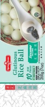 spring rice ball sesame