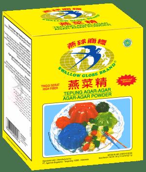 swallow globe brand agar agar plain