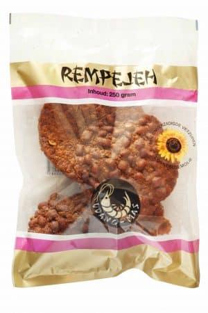 udang mas rempeye rempejeh rempeje rempeeje rempeyek rempejek pejek peyek gefrituurde hartige Javaanse cracker 250gram