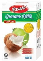 Rasaku coconut milk less fat