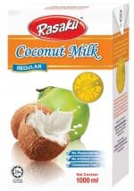 Rasaku coconut milk regular 1 liter