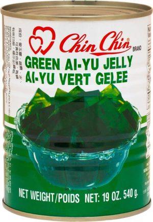 Chin green jelly