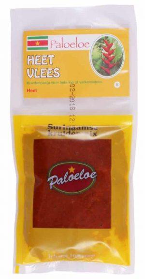 Paloeloe Surinaamse kruidenmix heet vlees