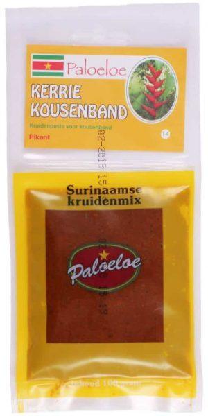 Paloeloe Surinaamse kruidenmix kerrie kousenband