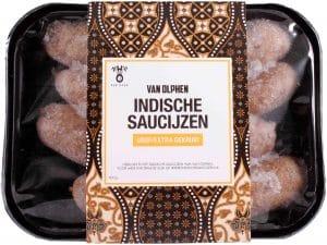 Van Olphen Indische saucijzen grof extra gekruid