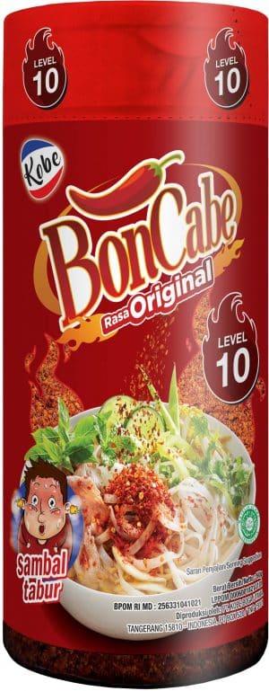 Kobe Boncabe sambal tabur rasa original level 10