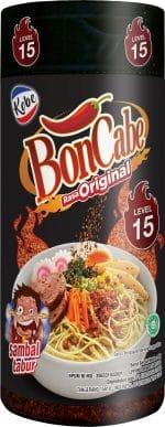 Kobe Boncabe sambal tabur rasa original level 15