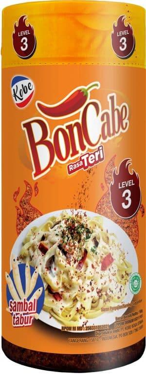 Kobe Boncabe sambal tabur rasa teri level 3