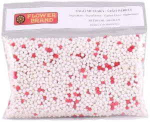 Flowerbrand sago pearls