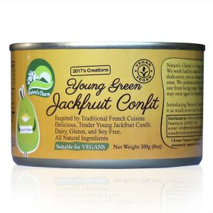 Nature's Charm young jackfruit confit