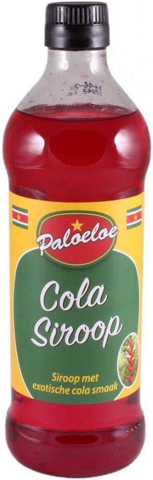 Paloeloe cola siroop